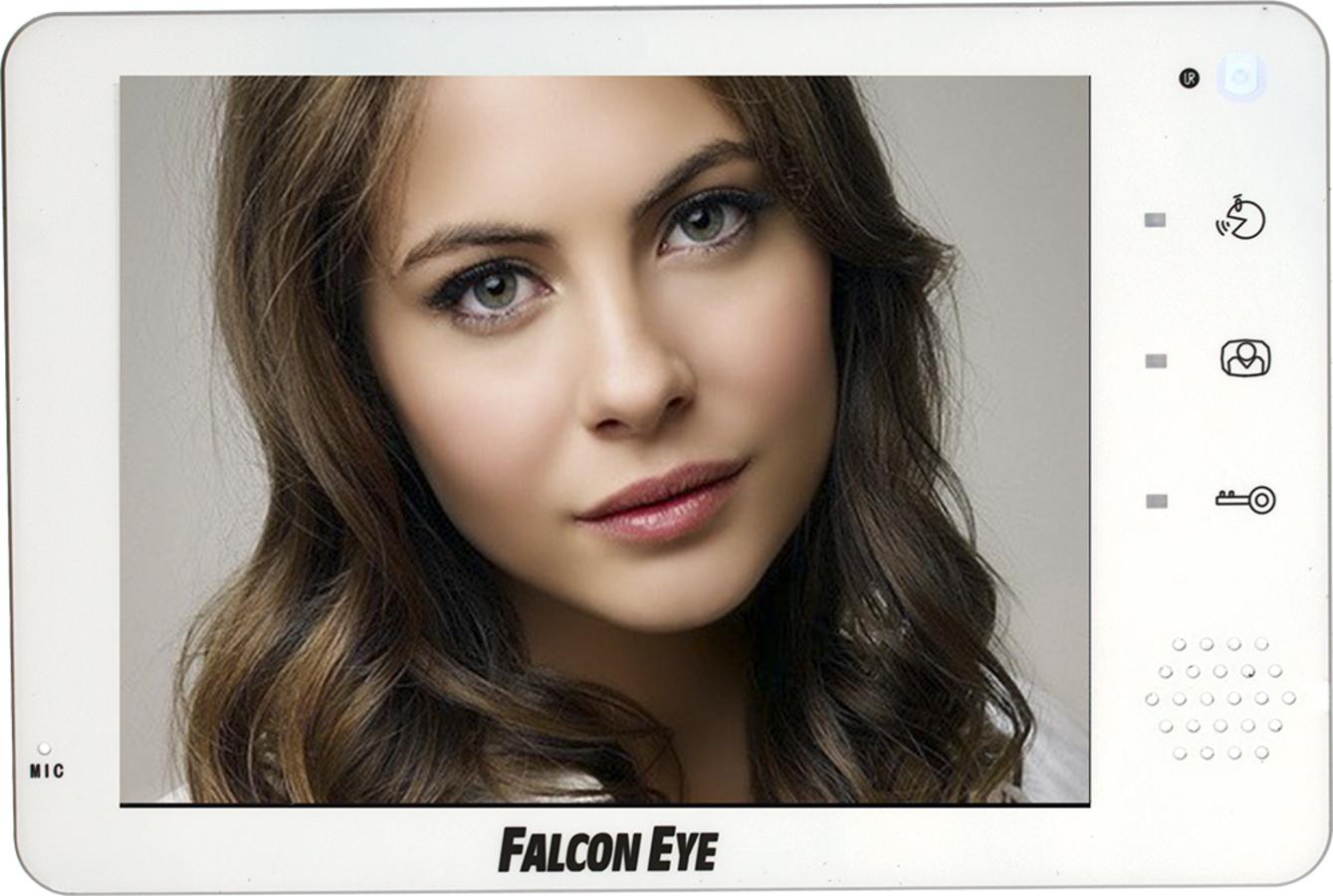 Falcon Eye (FE-74R) - цветной видеодомофон (White)