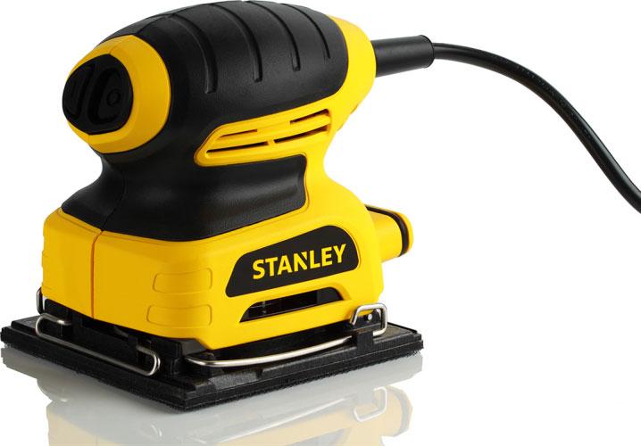 Stanley STSS025-RU - вибрационная шлифмашина (Yellow)