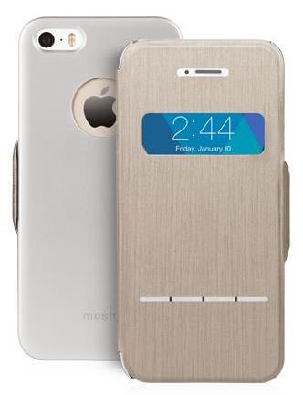 Купить Moshi SenseCover - чехол для iPhone 5/5S/SE (Titanium)