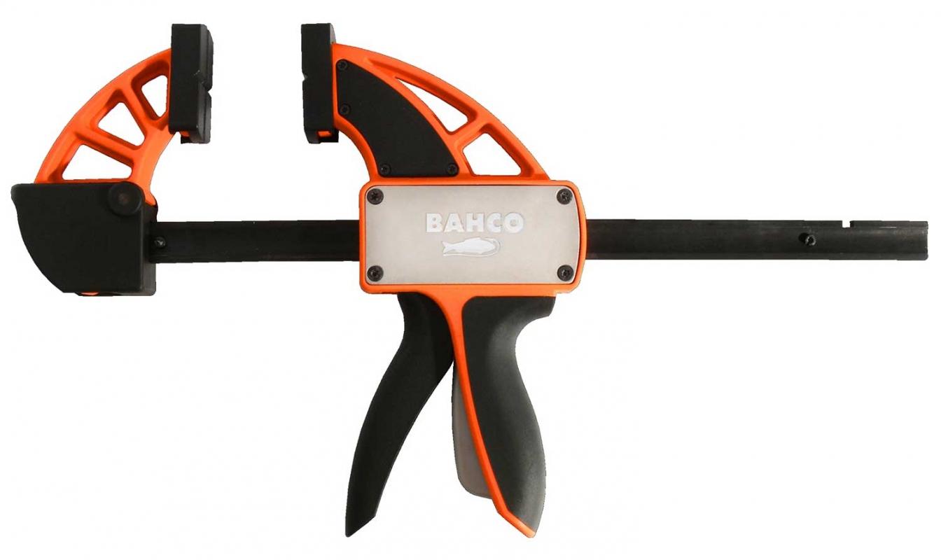 Bahco 600 мм (QCB-600) - струбцина быстрозажимная среднего усилия  быстрозажимная струбцина irimo 1200мм 254 1200 2