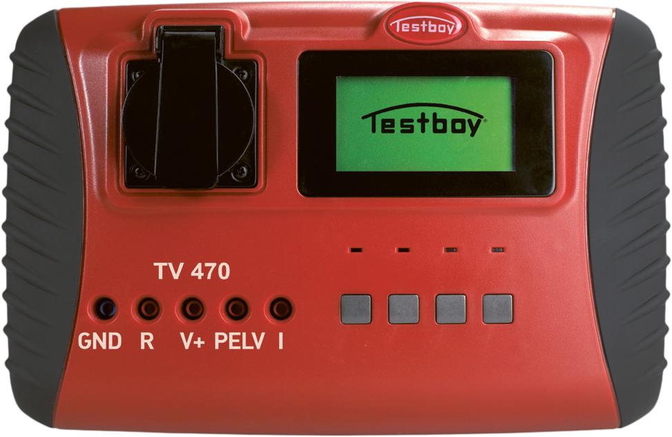 Testboy TV470 - инсталяционный тестер (Red)