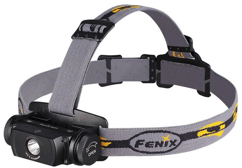 Fenix HL55 XM-L2 T6 - налобный фонарь (Black)