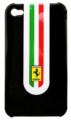Ferrari Stradale Case (FEST4GBL) - чехол для iPhone 44S (Black)