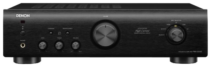 Denon PMA-520AE - двухканальный стереоусилитель (Black)