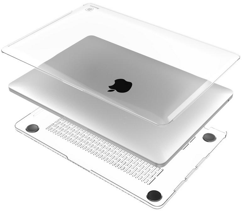 Купить Baseus Air Case (SPAPMCBK15-02) - накладка для MacBook Pro 15 2016 (Transparent)