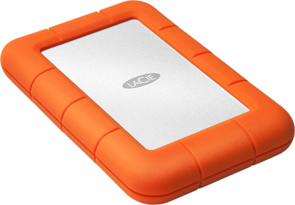 """LaCie Rugged Mini 2.5"""", 1Tb, USB 3.0 (LAC301558) - внешний жесткий диск (Orange)"""