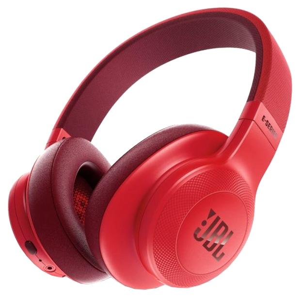 JBL E55BT - беспроводные накладные наушники (Red)