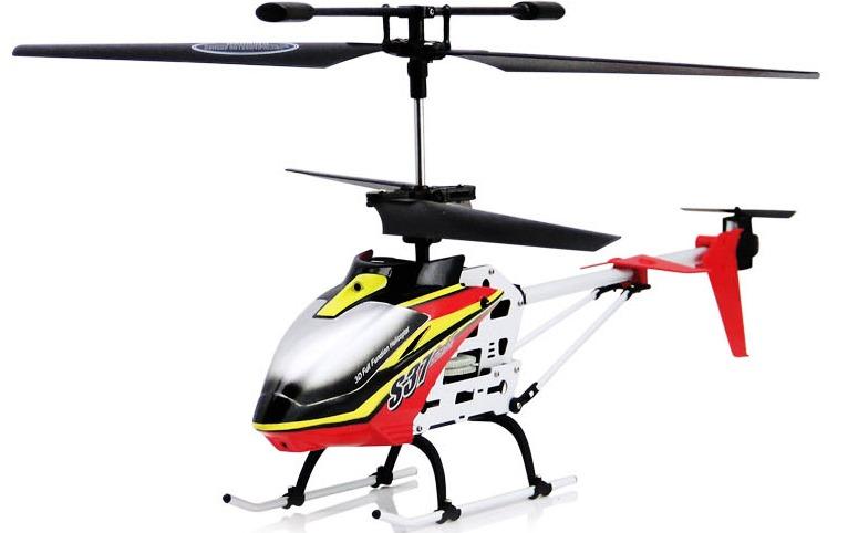 Syma S37 2.4GHz - радиоуправляемый вертолет (White/Red)