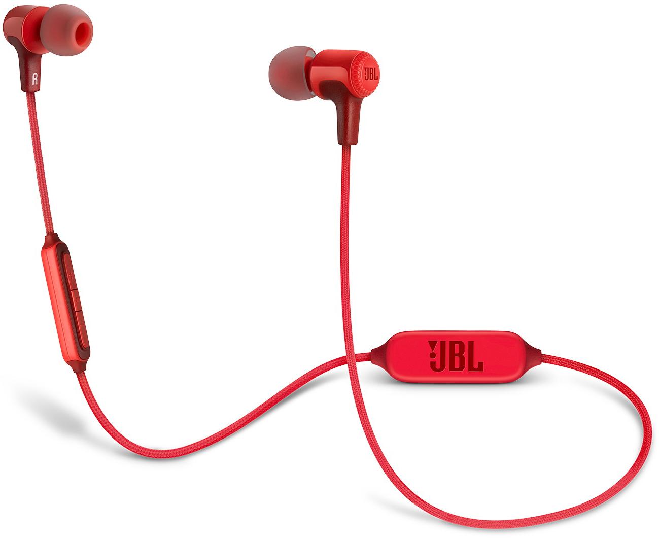 JBL E25 - внутриканальная Bluetooth-гарнитура (Red)