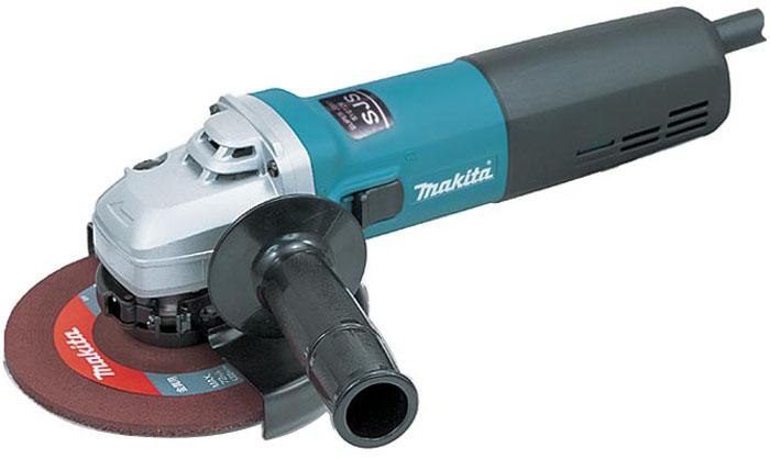Makita 9566CV - угловая шлифовальная машинка (Blue)  makita 9558hnk угловая шлифовальная машинка blue