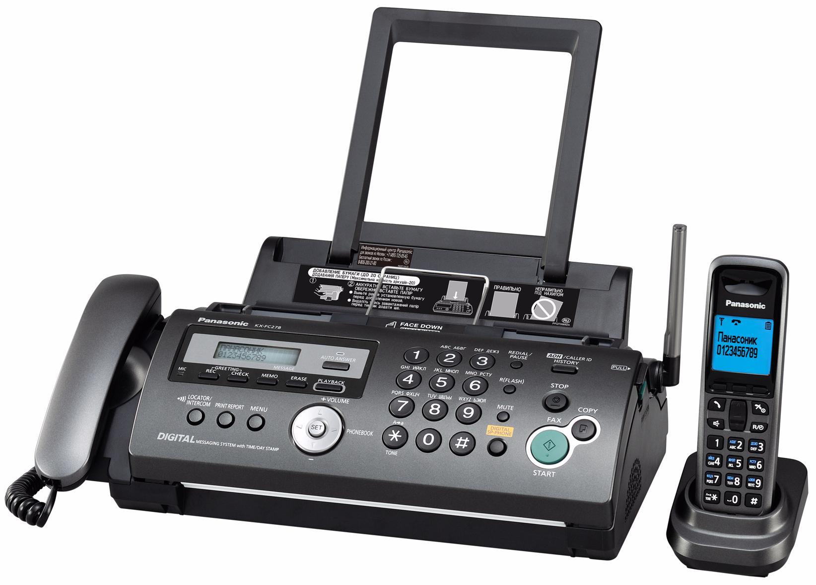 Panasonic KX FC278RUT АКЛ00001662