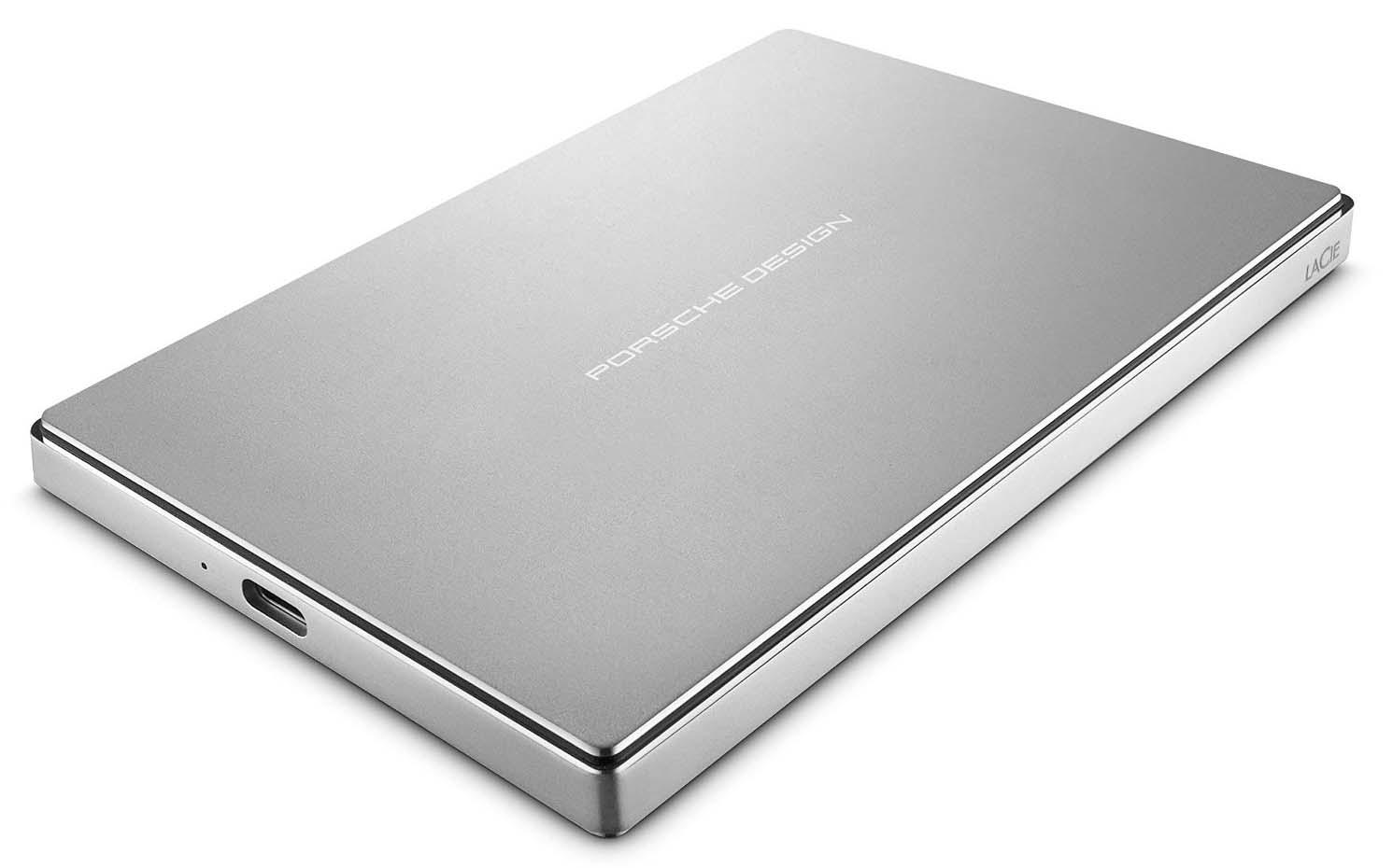 Купить LaCie Porsche Design Mobile 1TB USB 3.1 (STFD1000400) - внешний накопитель (Silver)