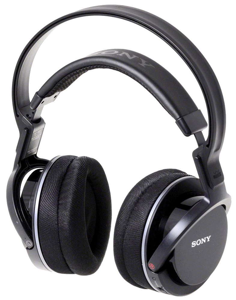 Sony MDR-RF855RK - беспроводные полноразмерные наушники (Black)