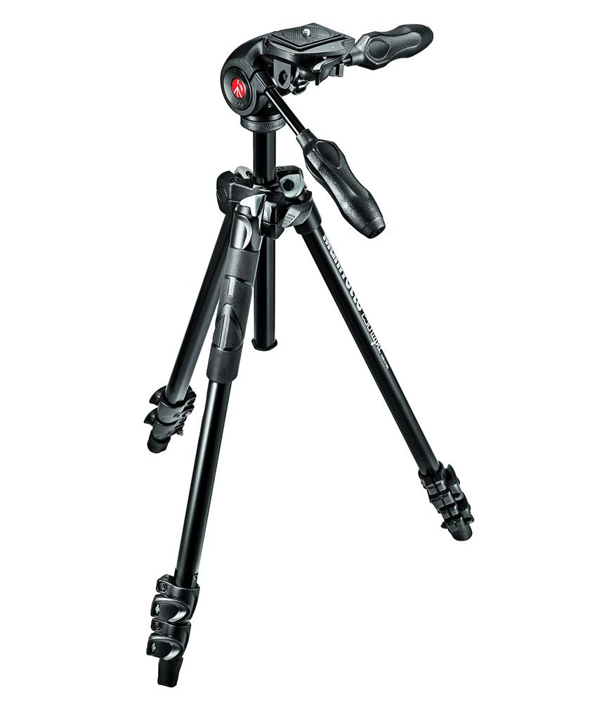 Manfrotto MK290LTA3-3W - штатив + 3D-головка для фотокамер