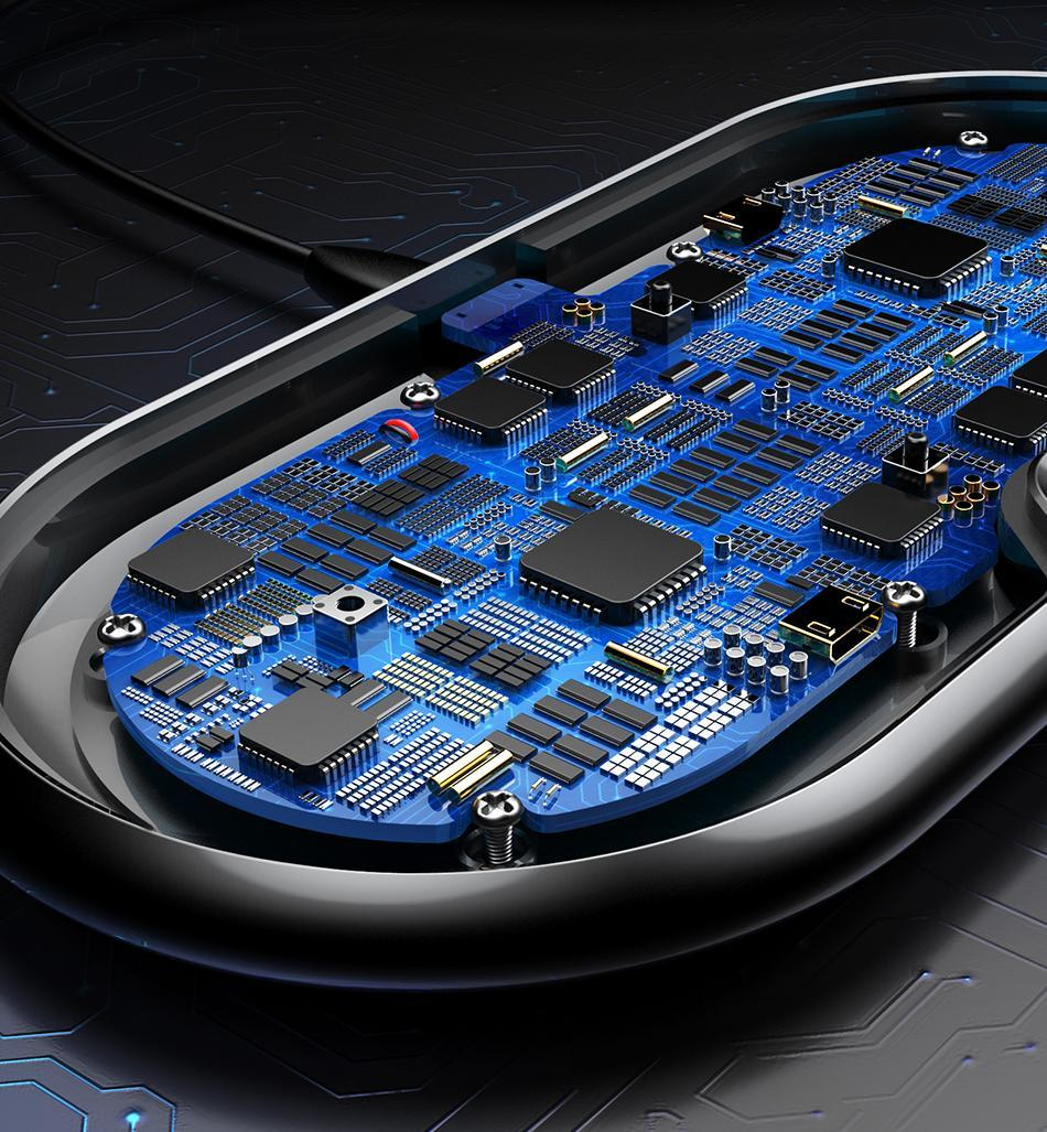 Беспроводное зарядное устройство Baseus Dual Wireless Charger (WXXHJ-A01) на два устройства (Black)