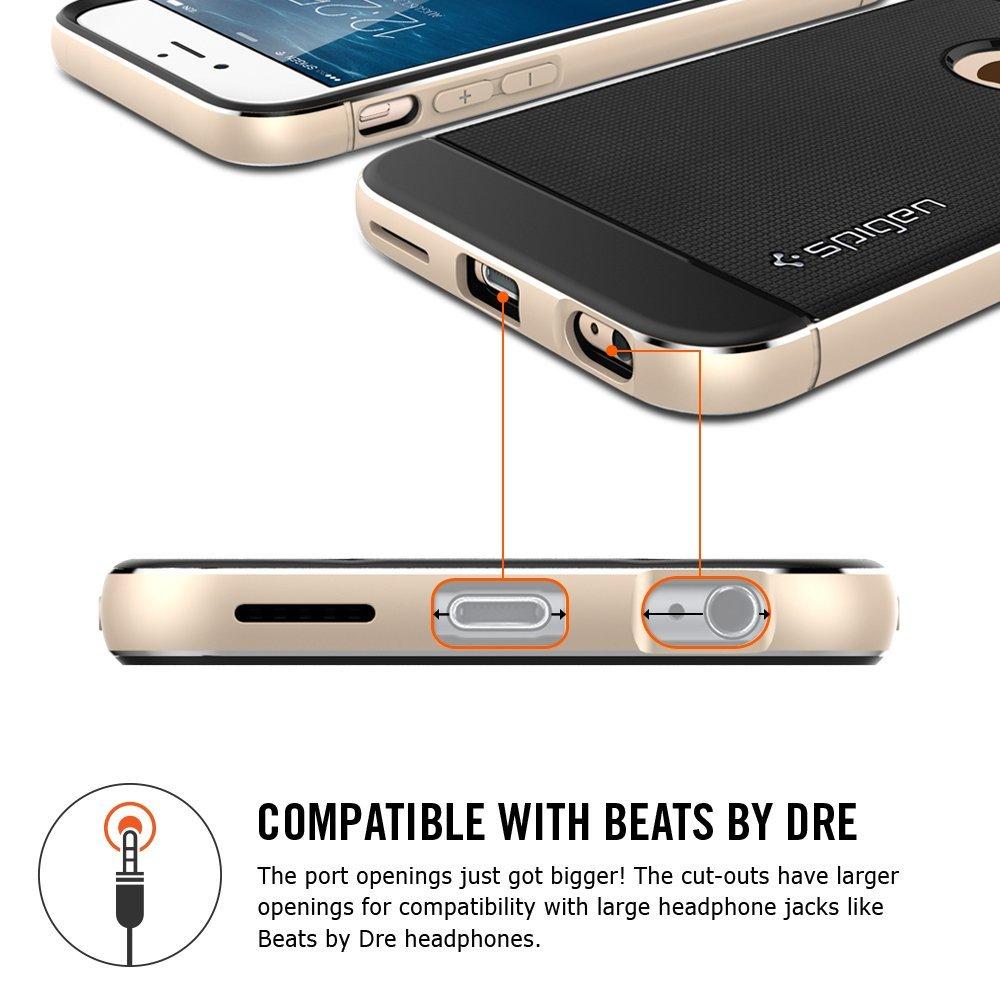 "Spigen Neo Hybrid Metal (SGP11176) - чехол для iPhone 6 4.7"" (Space Gray)"