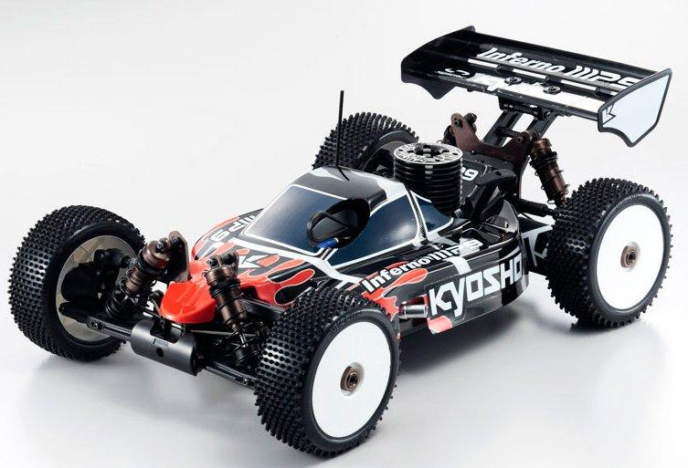 Kyosho Inferno MP9 TKI 3 1:8 - радиоуправляемый автомобиль (Red)