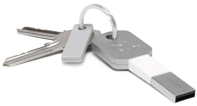 KiiДата - кабели<br>Брелок-кабель для зарядки<br>