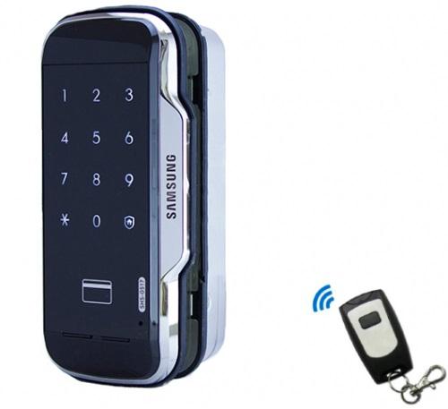 Samsung SHS-G517WХ - электронный дверной замок для стеклянных дверей (Black)