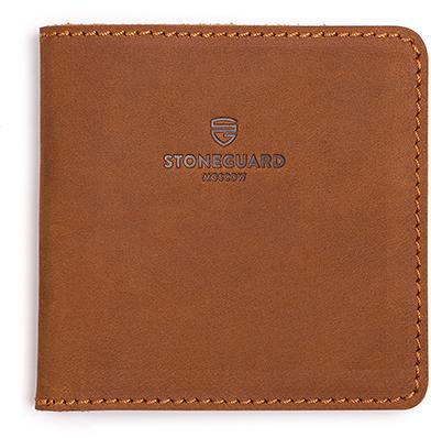 Stoneguard 311 - кожаный кошелек (Sand)
