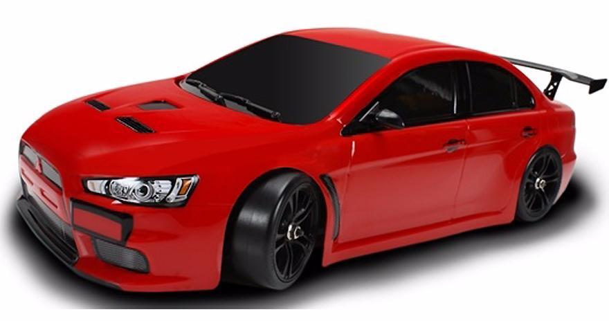 Team Magic E4D Mitsubishi Evolution X 1:10 - радиоуправляемый автомобиль (Red)