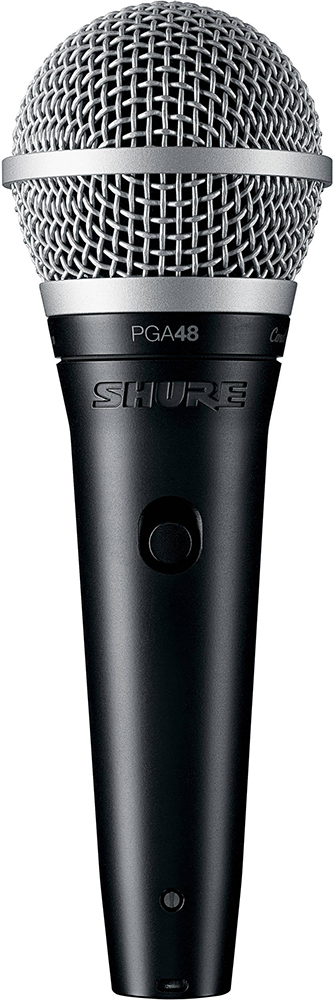 Shure PGA48-QTR-E - кардиоидный динамический вокальный микрофон (Black) shure sm86 кардиоидный конденсаторный вокальный микрофон black