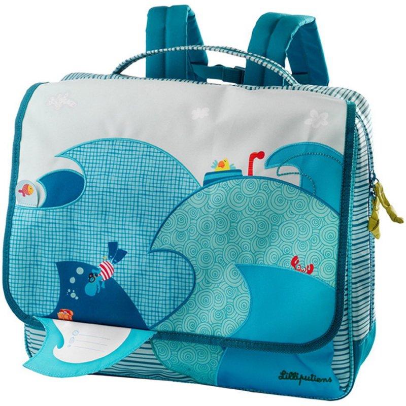 Школьный рюкзак Lilliputiens Бегемотик Арнольд А4 (86550)