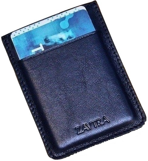 Zavtra - минималистичный кошелек (Blue) от iCover