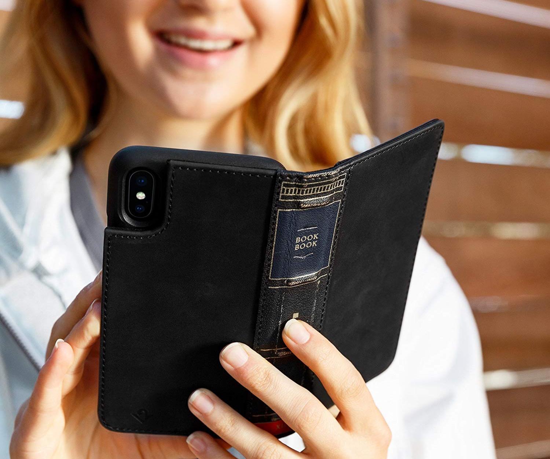 Чехол-книжка Twelve South BookBook (12-1814) для iPhone Xs Max (Black)