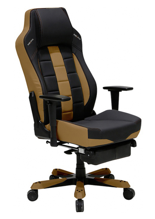 DXRacer OH/CBJ120/NC/FT - компьютерное кресло (Black/Brown)