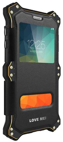 Love Mei MK 2 - ударопрочный чехол для iPhone 6 Plus/6S Plus (Black)Защищенные чехлы для смартфонов<br>Ударопрочный чехол<br>