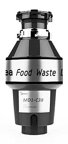 Midea MD 1 C 38 - измельчитель пищевых отходов (Black)