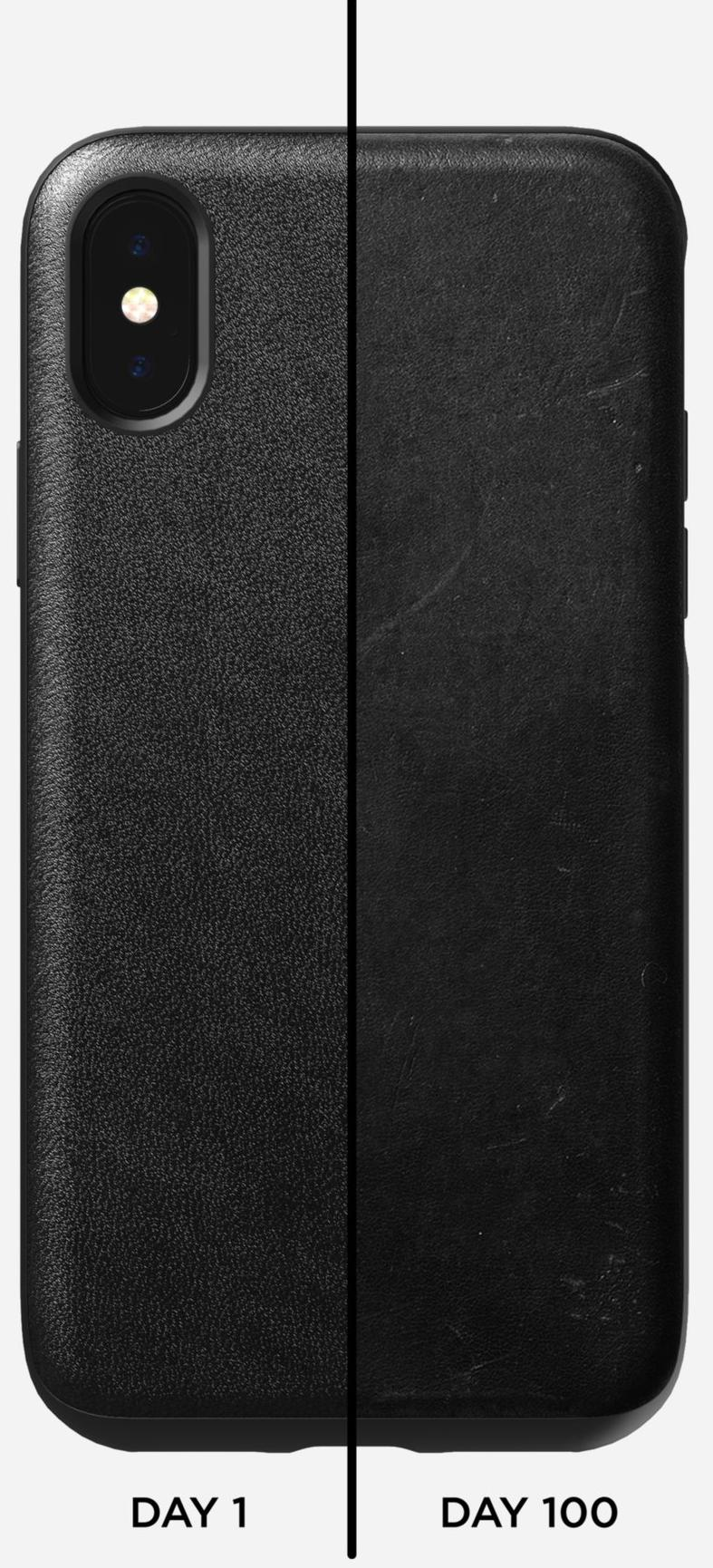Чехол Nomad Rugged Leather Case (NM21T10R00) для iPhone Xs Max (Black)