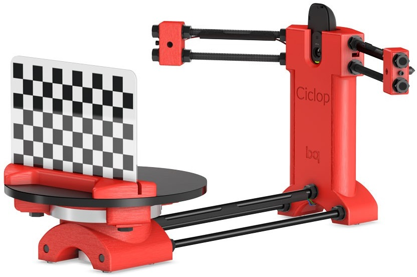 цены  BQ Ciclop (H000178) - 3D сканер (Red)