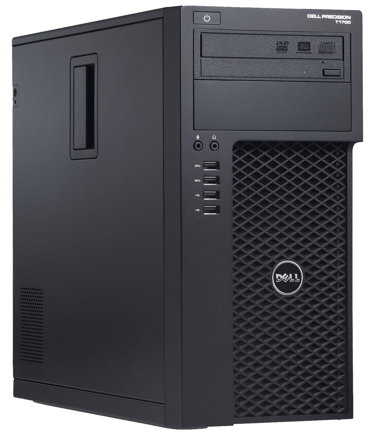 Десктоп Dell Precision T1700 MT Intel Xeon E3-1241v3 3.5 GHz, 16Gb, 256Gb SSD (1700-8987)