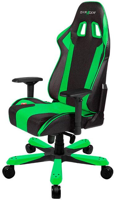 DXRacer OH/KS06/NE - компьютерное кресло (Black/Green)