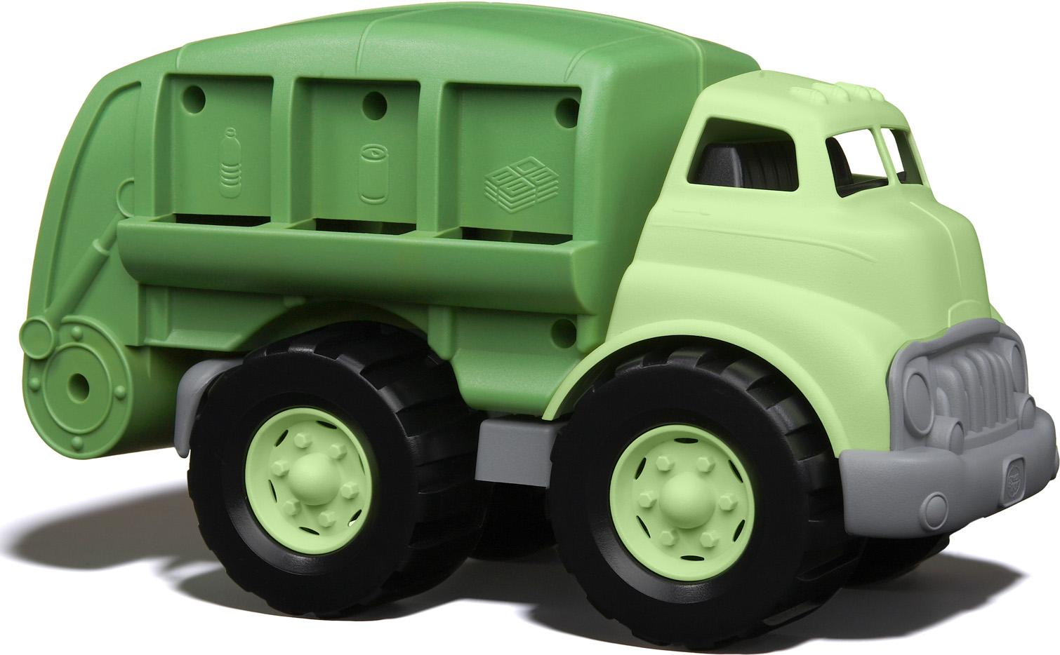 Green Toys 70328 - машина-мусоровоз (Green) от iCover