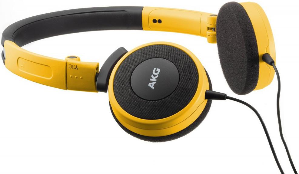 AKG Y30U - накладные наушники (Yellow)
