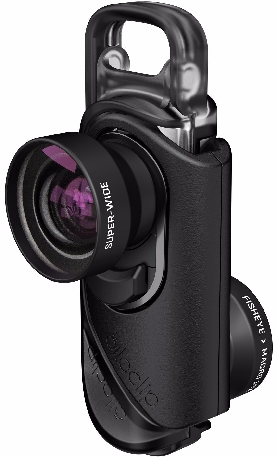 Core объектив olloclip 4 in 1 lens oc 0000115 eu silver lens black clip чехол ollocase for iphone 6 plus clear dark gray