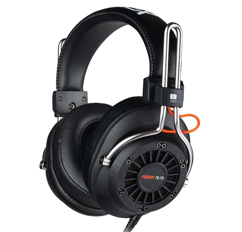 Fostex TR-70 250 Ом - полноразмерные наушники (Black)