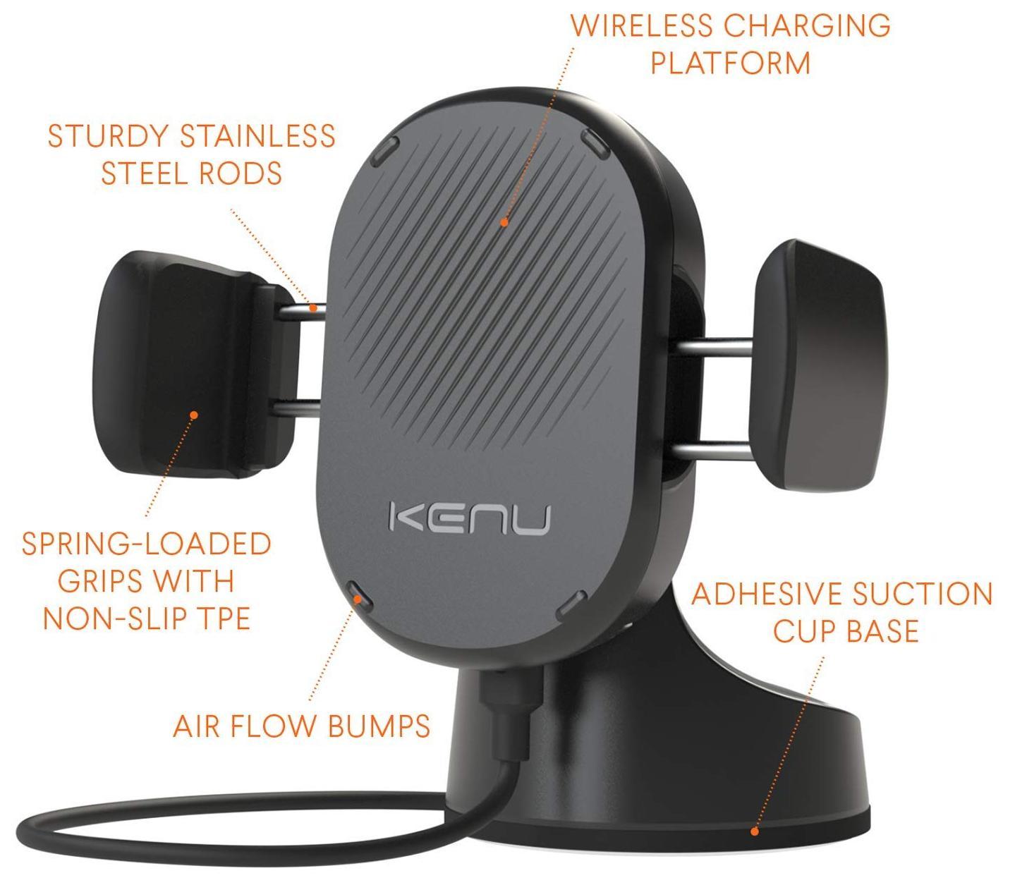 Беспроводное зарядное устройство Kenu Airbase ABW-KK-NA (Black)