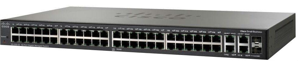 Коммутатор Cisco SG 300-52 52-port Gigabit Managed Switch