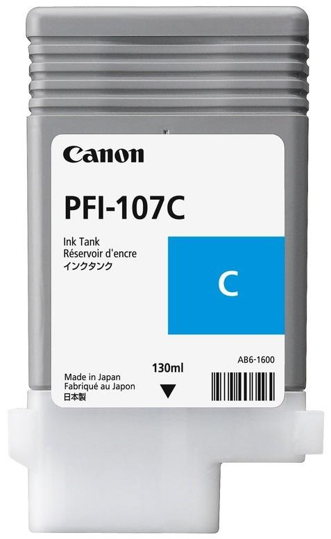 Canon PFI-107C (6706B001) - картридж для плоттеров Canon iPF680/685/780/785 (Blue)