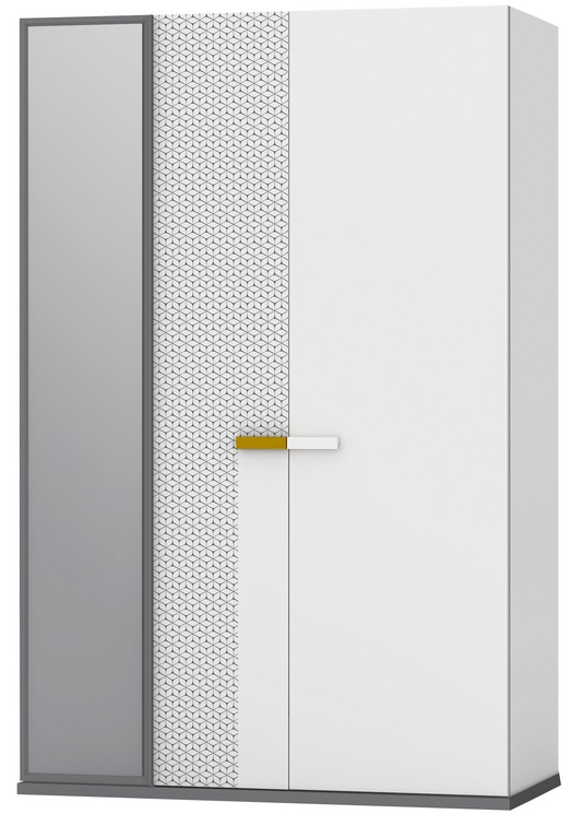 GeoТрехдверные шкафы<br>Шкаф 3-х дверный с зеркалом<br>