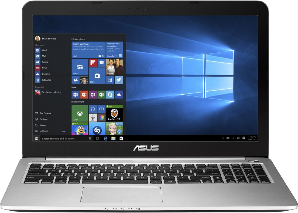 "Ноутбук Asus K501LB 15.6"" Intel Core i5-5200U 2.2Ghz, 8Gb, 1Tb HDD + 128Gb SSD (90NB08P1-M02330) Black"
