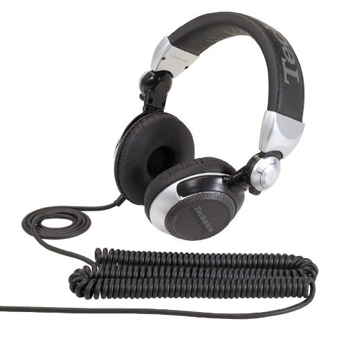 Technics RP-DJ1215E-S - накладные наушники (Black/Silver) от iCover