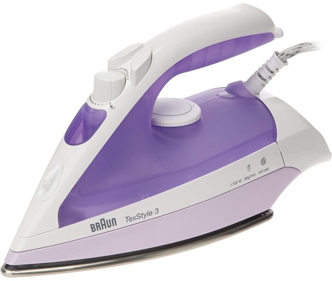 Утюг Braun TexStyle 320 (White/Purple)