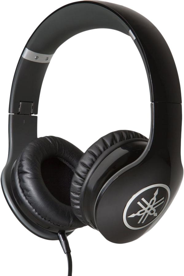 Yamaha HPH-PRO300 - мониторные наушники с микрофоном (Black)Полноразмерные наушники<br>Мониторные наушники с микрофоном<br>