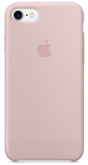Apple Silicone Case (MMX12ZM/A) - чехол для iPhone 7 (Pink Sand)