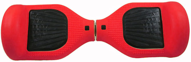 Novelty Electronics Silicone Case - чехол для гироскутера L1 (Red)
